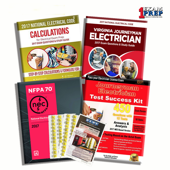Journeyman Electrician Exam Prep Package NFPA