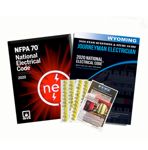 Wyoming 2020 Journeyman Electrician Exam Prep Package