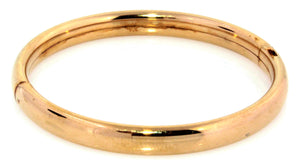 Estate 14k Gold Filled Baby Bracelet