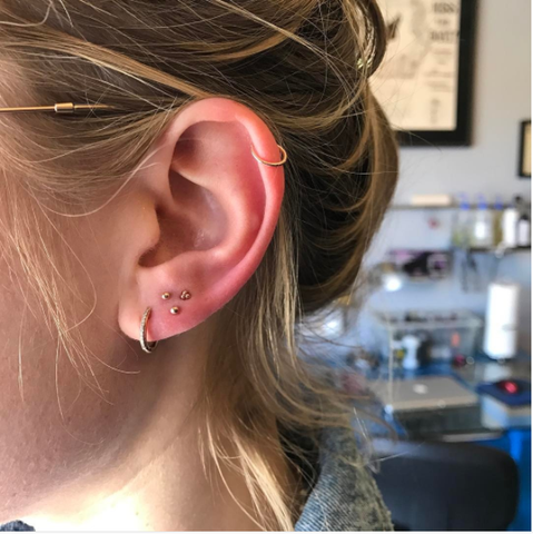 Triple Piercing Ideas For Every Occasion And Where To Find Them Dot3