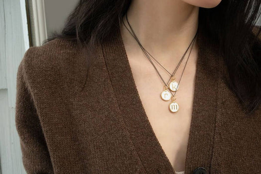 3 Ways to Wear Our Initial Charms