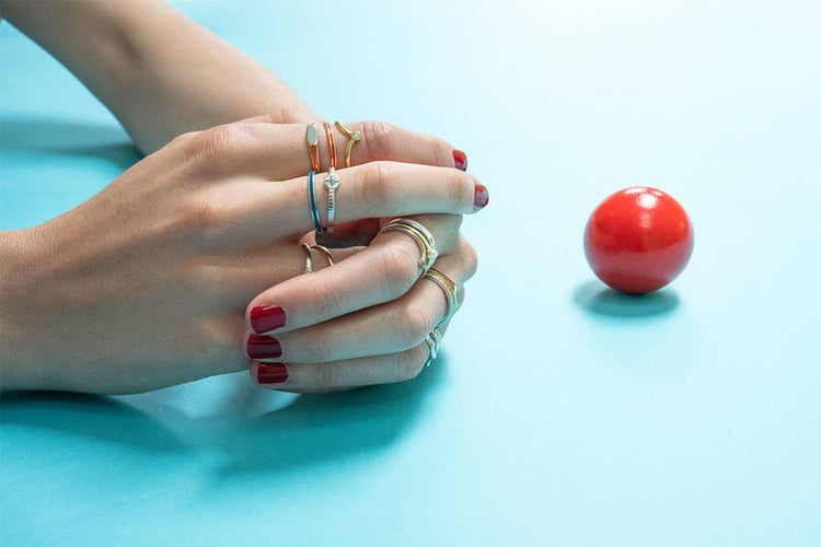Our 8 Favorite Stackable Ring Combos