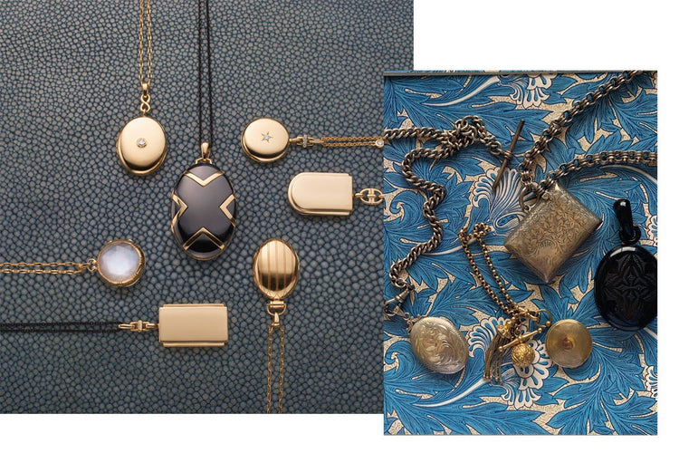 How Vintage Inspired Our New Lockets