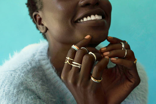 Our New Collection of Stackable Rings!