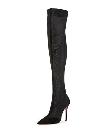 Aquazzura Hot Stuff Over-the-Knee Boots