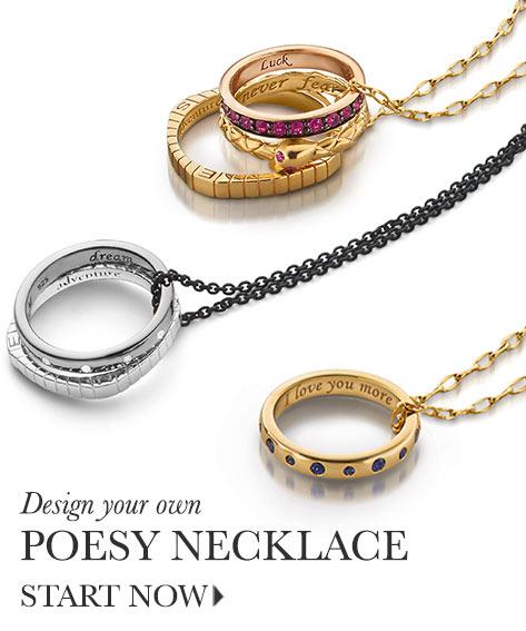 The Poesy Necklace Collection