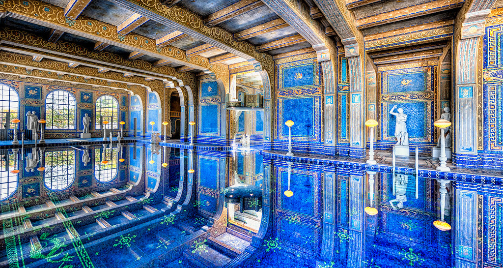 Photographed by Kay Gaensler - Roman Pool at Hearst Castle