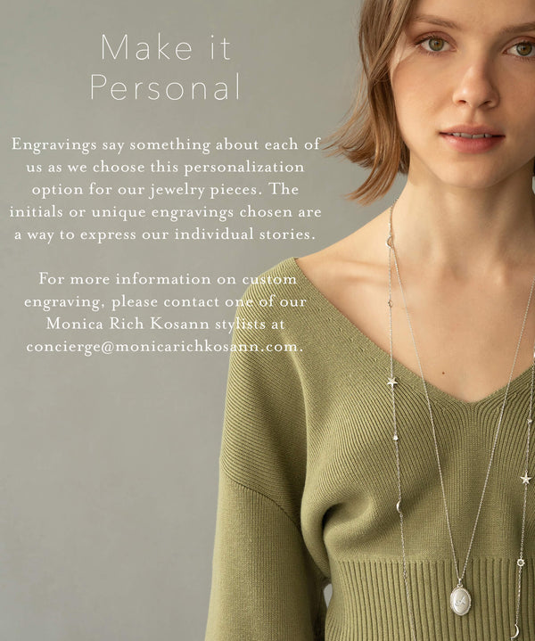 Engraved Necklaces & Jewelry