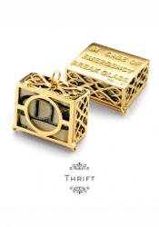 Thrift money box charm