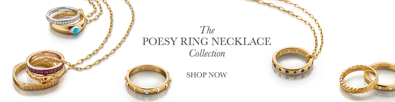 The Poesy Ring Necklace Collection