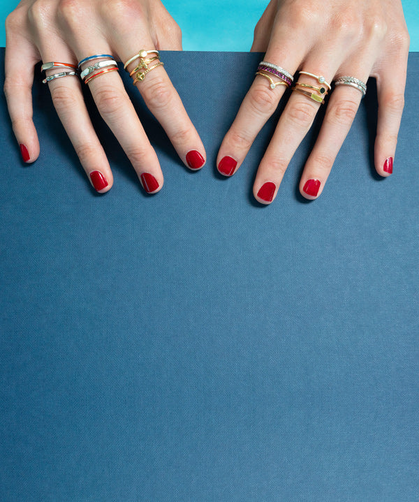 Poesy Stackable Rings