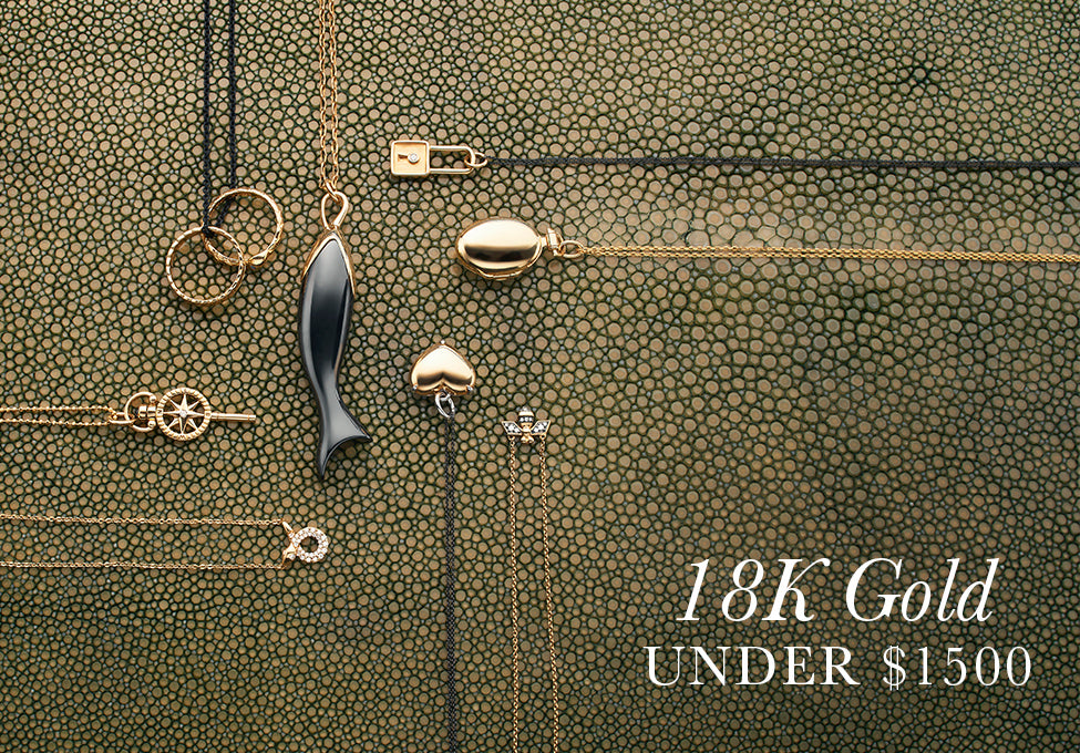Gifts in 18k Gold Under $1500