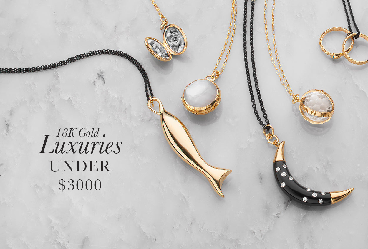 Gifts Under $3000 in 18k gold