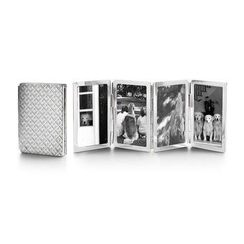 Diamond Pattern four photo Image Case