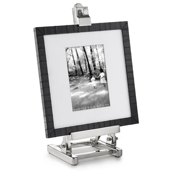 Black Eel Photo Frame on Easel