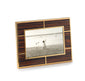 Macassar Rectangular Wood Photo Frame 4x6