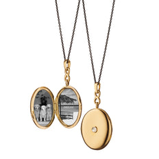 Infinity Diamond Locket