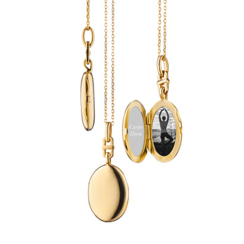 "Slim Oval ""Eve"" Locket"