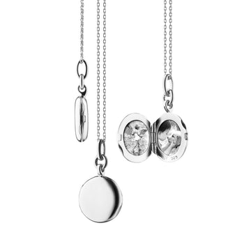 "Slim Round ""Nan"" Locket"