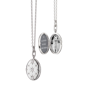 Oval Mosaic Locket