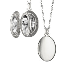 4-Image Oval Locket