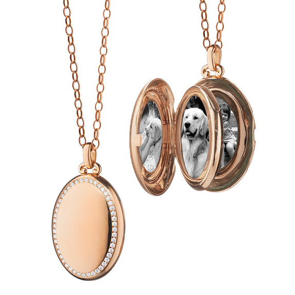 "The Four Image ""Premier"" Diamond Locket"