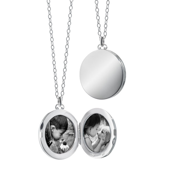 Round Simple Locket