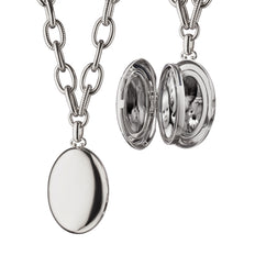 "Sterling Silver ""Premier"" Four Image Locket"