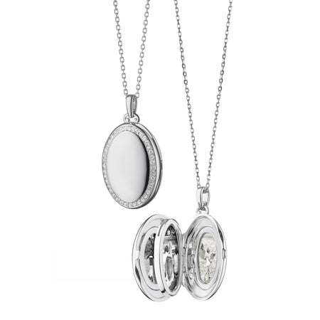 "The Four ""Midi"" Sapphire Locket"
