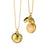 "18K Yellow Gold ""Inner Beauty"" Venus Charm Necklace"