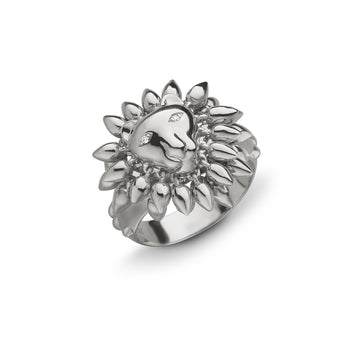 """Courage"" Lion Ring"
