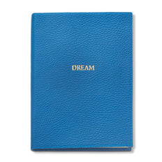 Dream Leather Journal, Blue