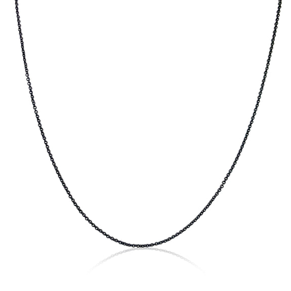 Complimentary Black Steel Chain with Necklace Purchase Over $750 - Only 1 Gift Per Customer - Valid 10/6/20-10/12/20