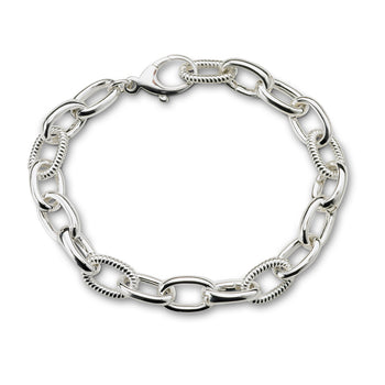 """Build Your Own"" Braided-Link Charm Bracelet"