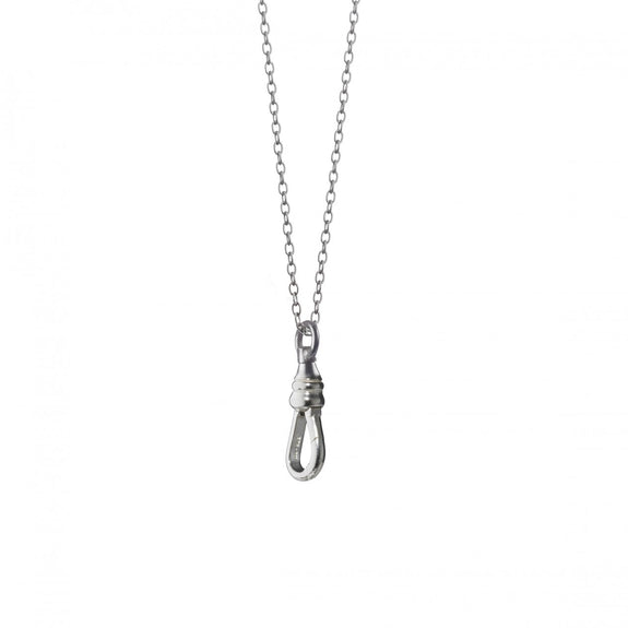 """Individuality"" Charm Necklace Chain in Sterling Silver"