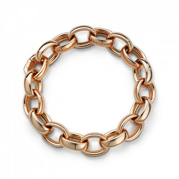 Marilyn Link Bracelet in Rose Gold