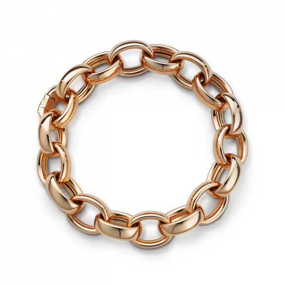 Marilyn Link  Bracelet in 18K Rose Gold