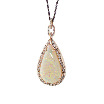 Limited Open Edition Crystal Opal Locket