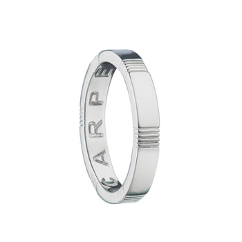 """Carpe Diem"" Poesy Ring, Size 4, Sterling Silver"