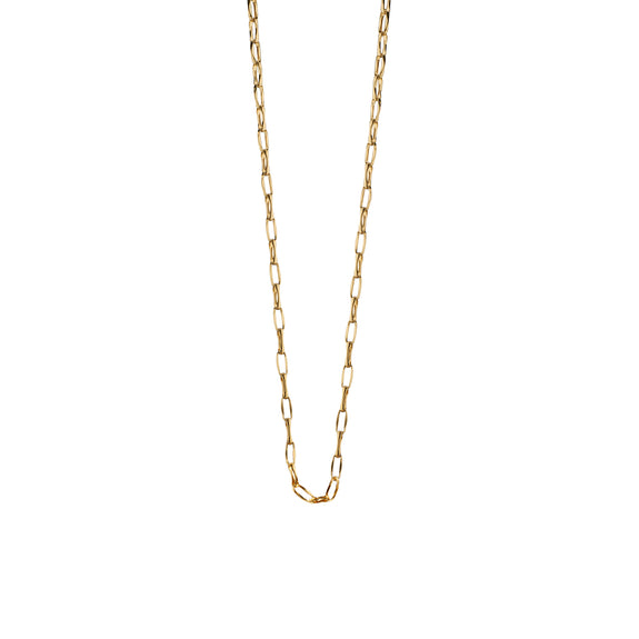 "18K Yellow Gold ""Stevie"" Delicate Open Link Chain"
