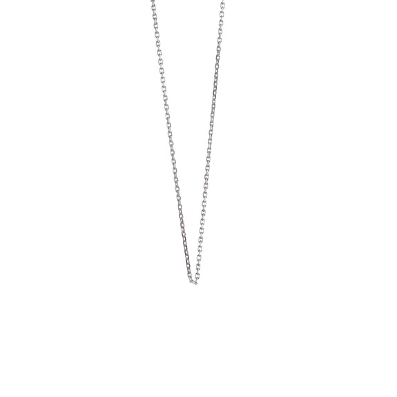 "Sterling Silver ""Nickie"" Diamond Cut Chain"