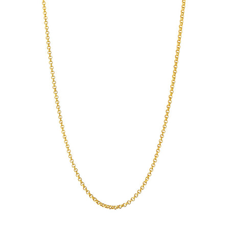 Pennie Delicate Rounded Link Chain