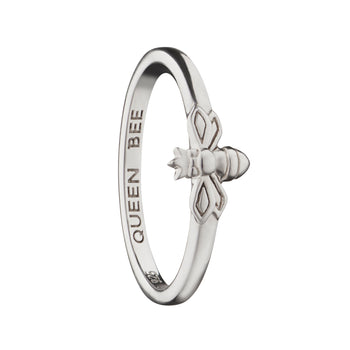"""Queen Bee"" Poesy Stackable Ring"
