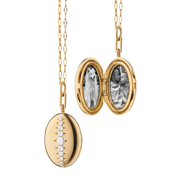 Special Edition Oval Vintage Diamond Locket