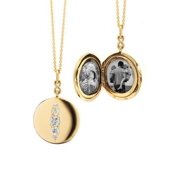 Special Edition Round Vintage Diamond Locket