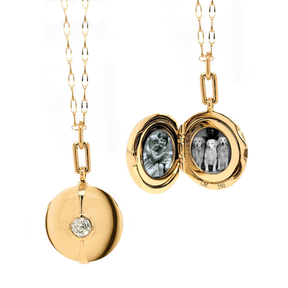 Special Edition Locket with Vintage Diamond
