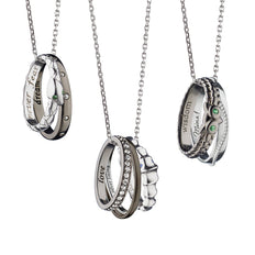 Design Your Own Poesy Necklace in Sterling Silver
