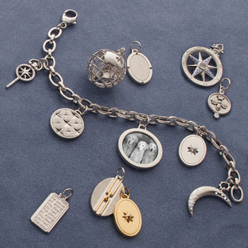 Sterling Silver Design Your Own Charm Bracelet