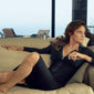Cushion Bezel-Set Earrings on Caitlyn Jenner in Vanity Fair