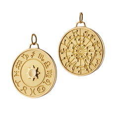 """My Stars"" Constellation Charm in 18K yellow gold"